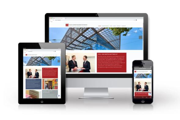 Website Utecht Schweppe Milimonka Reitemeyer – Rechtsanwälte, Chemnitz (2021)